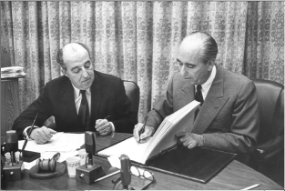 Signing of the ICSID Convention (1966)